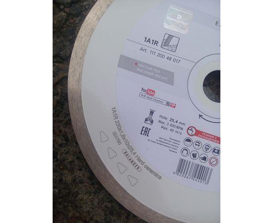 Круг алмазный отрезной 230 x 1,6/1,2 x 10 x 25,4 (1A1R) Hard Ceramics, мокрый рез, для плиткореза, DISTAR - 11120048017, фото 3 | SNABZHENIE.com.ua