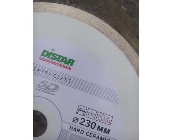 Круг алмазный отрезной 230 x 1,6/1,2 x 10 x 25,4 (1A1R) Hard Ceramics, мокрый рез, для плиткореза, DISTAR - 11120048017, фото 4 | SNABZHENIE.com.ua