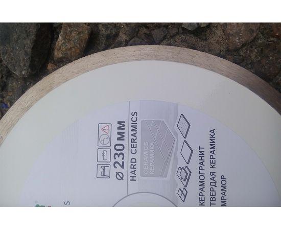 Круг алмазный отрезной 230 x 1,6/1,2 x 10 x 25,4 (1A1R) Hard Ceramics, мокрый рез, для плиткореза, DISTAR - 11120048017, фото 6 | SNABZHENIE.com.ua