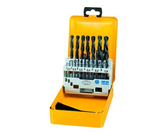 Набор сверл по металлу 19 шт. 1-10 мм в металлической кассете HSS-R DeWALT - DT5913, фото 1 | SNABZHENIE.com.ua