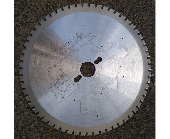 Пила дисковая 254 х 30 мм, Z 60, по стали для продольного и поперечного пиления CMT - 226.060.10M, фото 15 | SNABZHENIE.com.ua