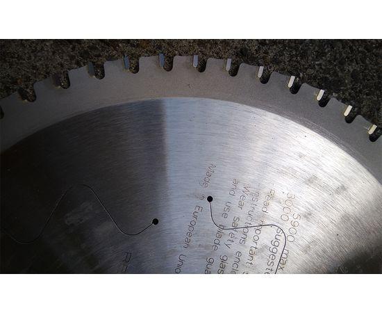Пила дисковая 254 х 30 мм, Z 60, по стали для продольного и поперечного пиления CMT - 226.060.10M, фото 11 | SNABZHENIE.com.ua